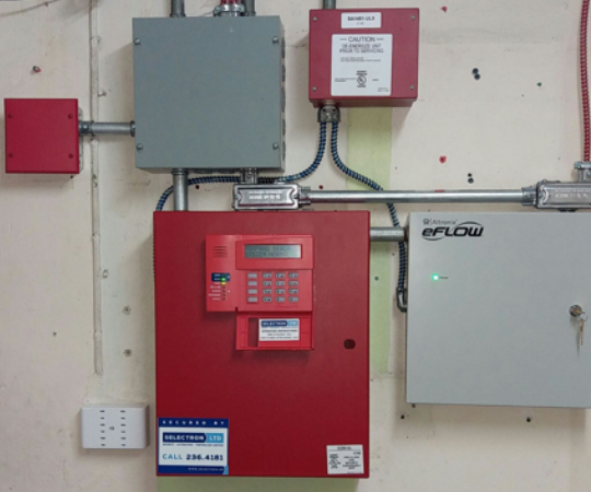 Selectron-Commerical-Fire-Alarm-System