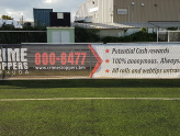 New Promotional Banners for Crime Stoppers Bermuda