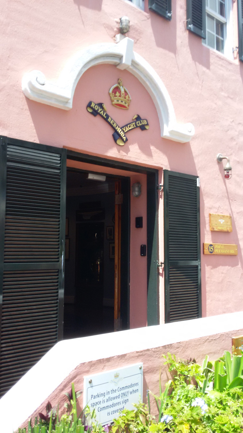 Increased Security for the Royal Bermuda Yacht Club