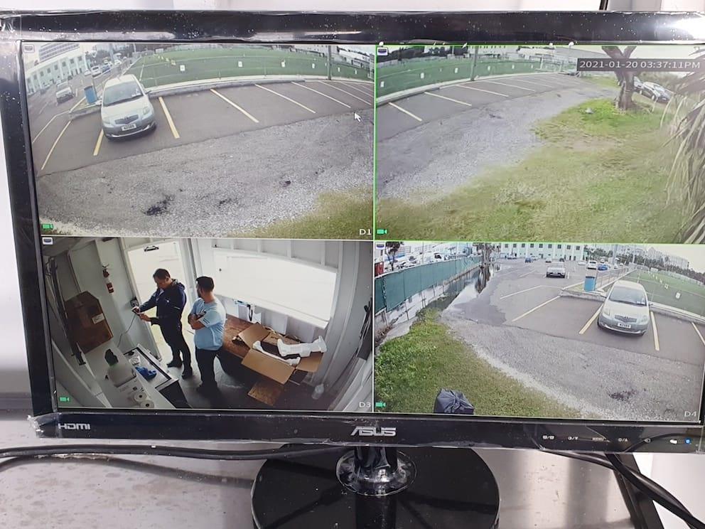 CCTV Camera System with STORM IP Turret Cameras